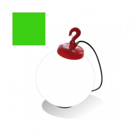 Lampe GRUMO SPHÈRE de Roger Pradier, Vert pomme