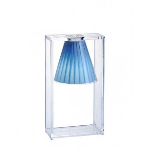 Lampe LIGHT-AIR de Kartell, Bleu Azur