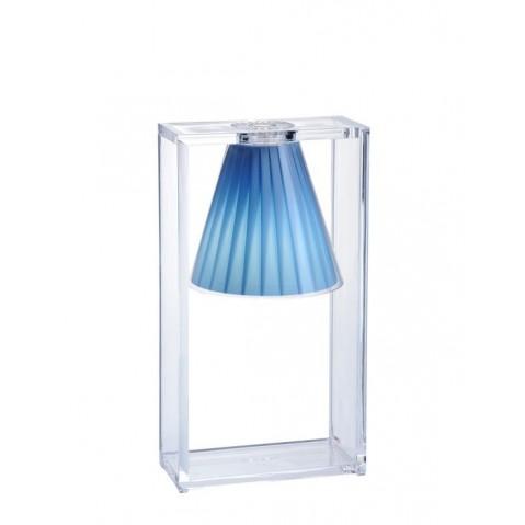 Lampe LIGHT-AIR de Kartell, Bleu Azur