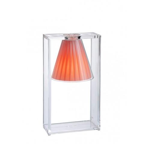 Lampe LIGHT-AIR de Kartell, Rose clair
