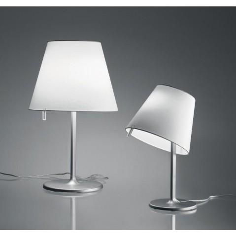 Lampe MELAMPO TAVALO d'Artemide gris aluminium