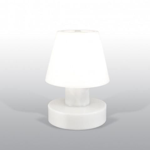 Lampe portable BLOOM ! H.28 cm blanc