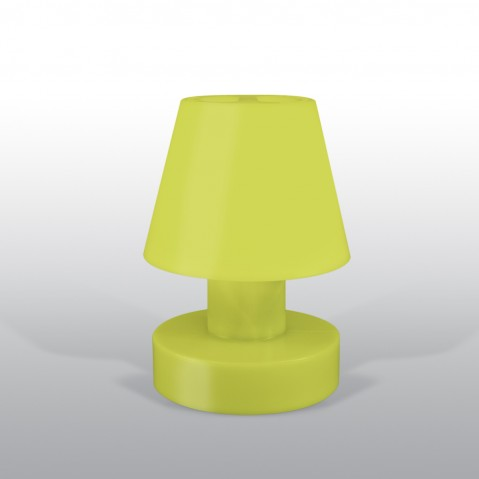 Lampe portable BLOOM ! H.28 cm lime