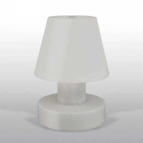 Lampe portable BLOOM ! H.40 cm gris