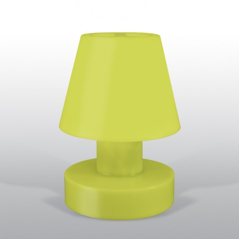 Lampe portable BLOOM ! H.40 cm lime