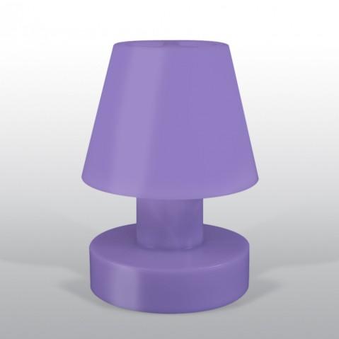 Lampe portable BLOOM ! H.40 cm violet