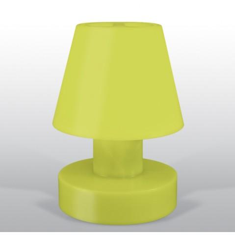 Lampe portable BLOOM ! H.56 cm lime