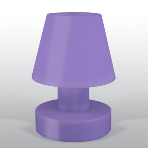 Lampe portable BLOOM ! H.56 cm violet