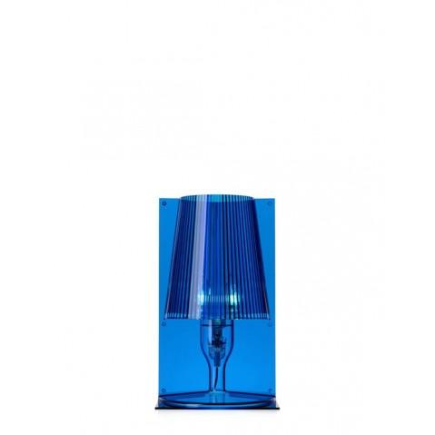 Lampe TAKE de Kartell, Bleu
