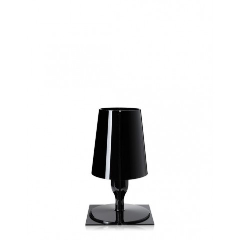 Lampe TAKE de Kartell, Noir Opaque