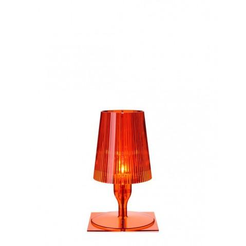 Lampe TAKE de Kartell, Orange