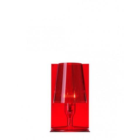 Lampe TAKE de Kartell, Rouge