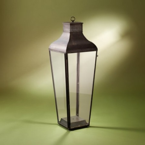 Lanterne Nautic MONTROSE FLOOR - LED bronze antique verre clair