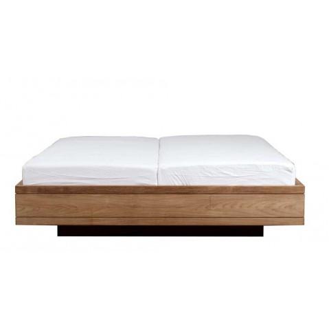 lit teck burger d 39 ethnicraft sans lattes matelas 180 200. Black Bedroom Furniture Sets. Home Design Ideas