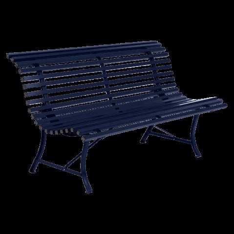 Banc LOUISIANE 150 de Fermob, Bleu abysse
