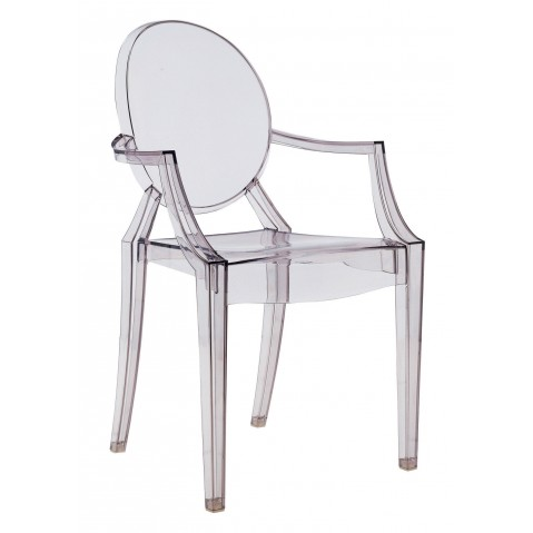 Lot de 2 bridges LOUIS GHOST de Kartell, 8 coloris