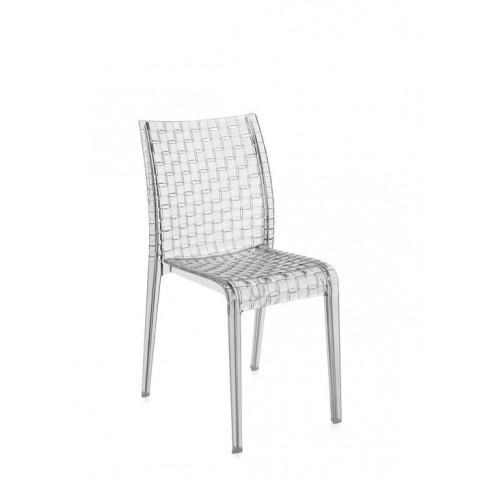 Lot de 2 chaises AMI AMI de Kartell, Cristal