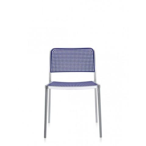 Lot de 2 chaises AUDREY de Kartell, Bleu