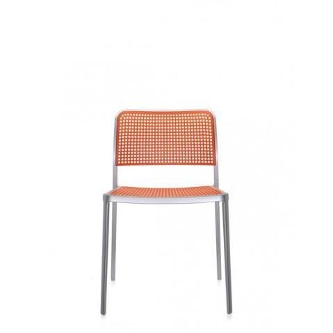 Lot de 2 chaises AUDREY de Kartell, Orange
