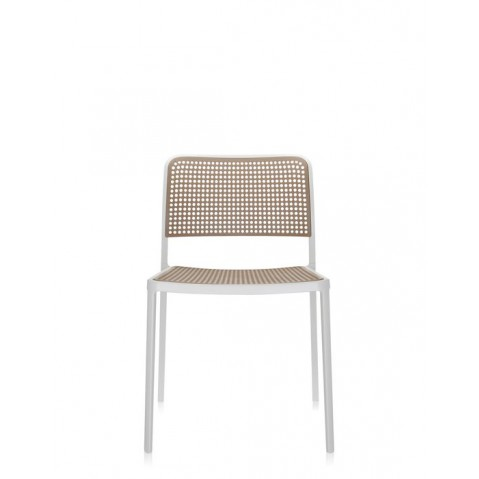 Lot de 2 chaises AUDREY de Kartell, Sable