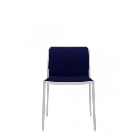 Lot de 2 Chaises AUDREY SOFT de Kartell, Bleu-Blanc