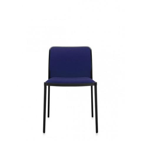 Lot de 2 Chaises AUDREY SOFT de Kartell, Bleu-Noir