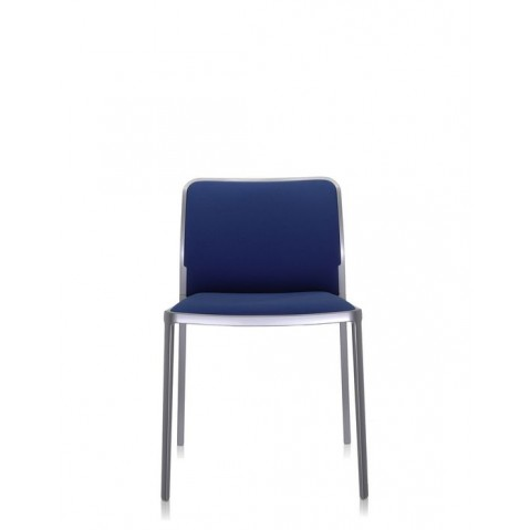 Lot de 2 Chaises AUDREY SOFT de Kartell, Bleu