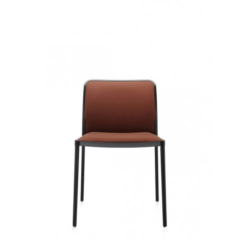 Lot de 2 Chaises AUDREY SOFT de Kartell, Marron-Noir