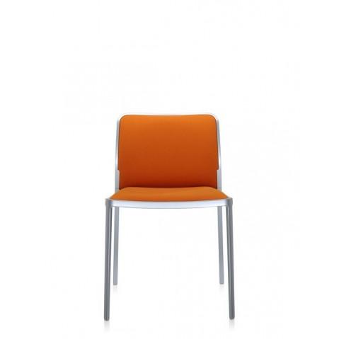 Lot de 2 Chaises AUDREY SOFT de Kartell, Orange