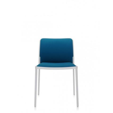 Lot de 2 Chaises AUDREY SOFT de Kartell, Sarcelle-Blanc