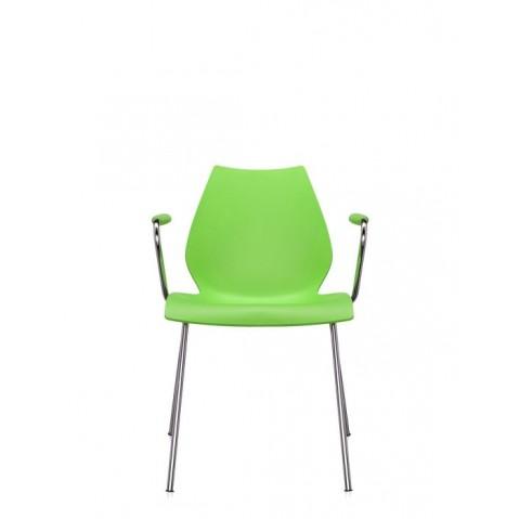 Lot de 2 chaises avec accoudoirs MAUI de Kartell, 11 coloris