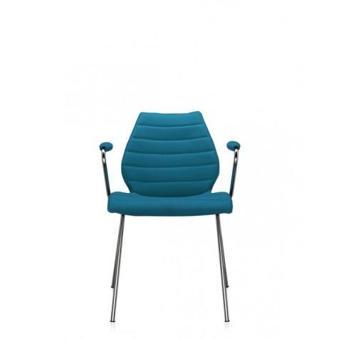 Lot de 2 chaises avec accoudoirs MAUI SOFT de Kartell, 8 coloris
