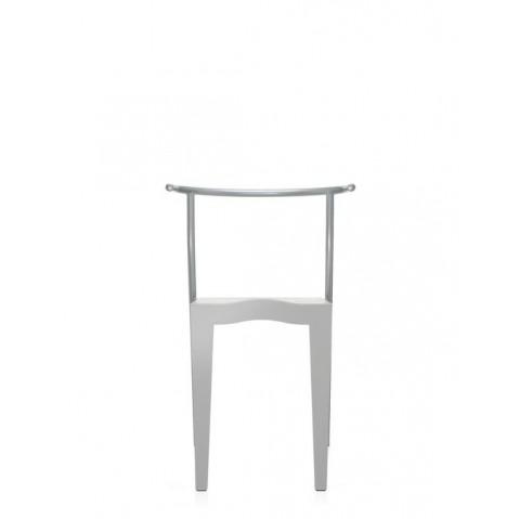 Lot de 2 chaises DR.GLOB de Kartell, Argent
