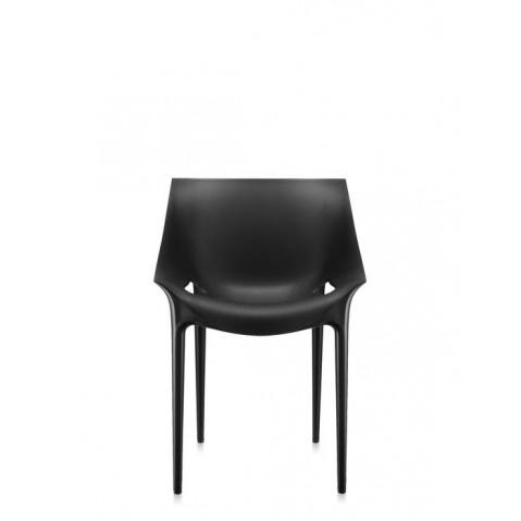 Lot de 2 chaises DR.YES de Kartell, Noir