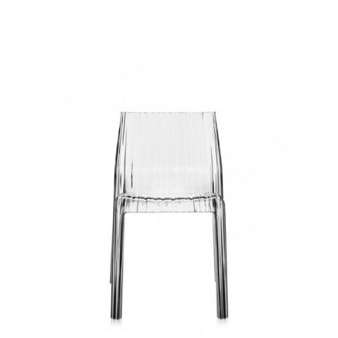 Lot de 2 chaises FRILLY de Kartell, Cristal