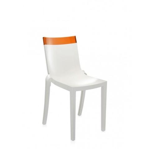 Lot de 2 chaises HI-cut de Kartell, 3 structures, 18 coloris
