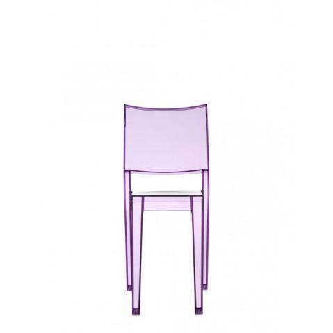 Lot de 2 chaises LA MARIE de Kartell, Violet