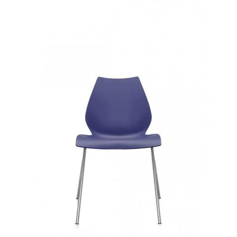 Lot de 2 chaises MAUI de Kartell, Bleu marine