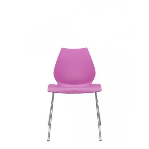Lot de 2 chaises MAUI de Kartell, Fuchsia
