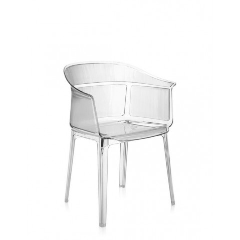 Chaise PAPYRUS de Kartell, Cristal
