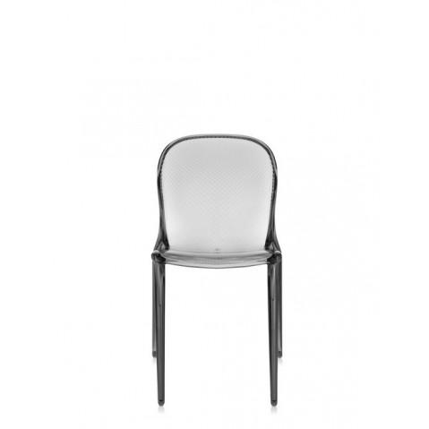 Lot de 2 chaises THALYA de Kartell, Fumé