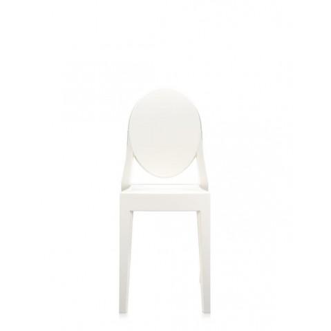 Lot de 2 chaises VICTORIA GHOST de Kartell, Blanc