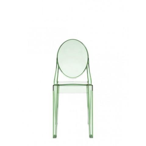 chaise victoria ghost de kartell vert transparent. Black Bedroom Furniture Sets. Home Design Ideas