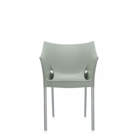 Lot de 2 fauteuils DR.NO de Kartell, Vert Fenouil