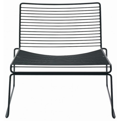 Lounge chair HEE de Hay, noir