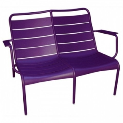 Lounger Duo LUXEMBOURG Fermob aubergine