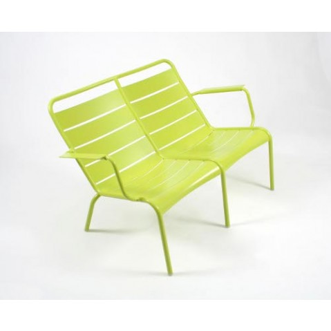 Lounger Duo LUXEMBOURG Fermob verveine