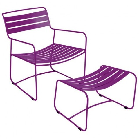 Lounger SURPRISING de Fermob aubergine
