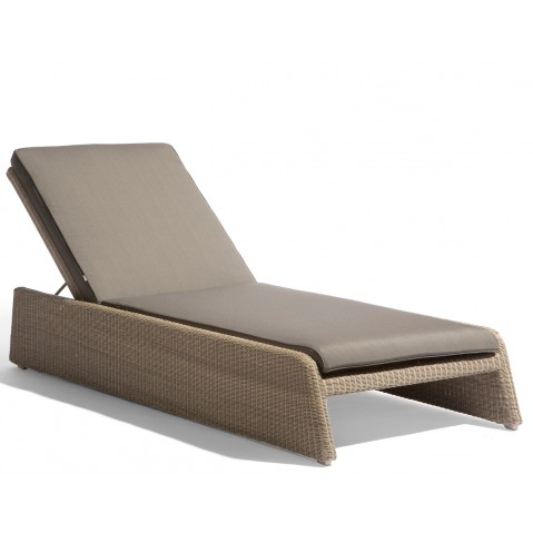 Lounger SWING de Manutti coquillage et taupe