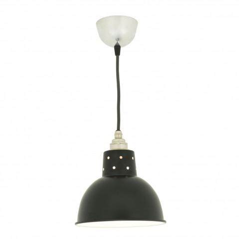 Suspension SPUN avec corde de Davey Lighting, Noir
